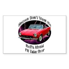 Fiat 124 Spider Decal
