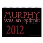 Murphy Was An Optimist Wall Calendar