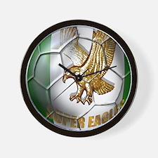 Super Eagles Football Wall Clock