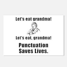 Lets Eat Grandma! Postcards (Package of 8)