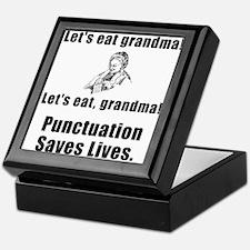 Lets Eat Grandma! Keepsake Box