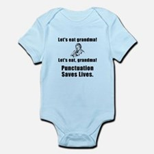 Lets Eat Grandma! Infant Bodysuit