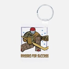 Hockey Dressed For Success Keychains