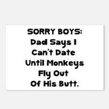 Sorry Boys Postcards (Package of 8)