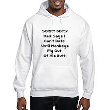 Sorry Boys Hoodie Sweatshirt