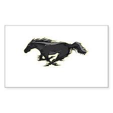 Mustang Running Horse Decal