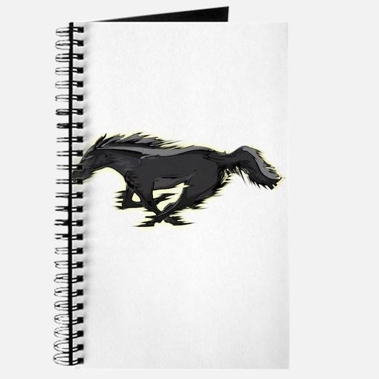 Mustang Running Horse Journal