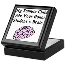 Zombie Child Keepsake Box
