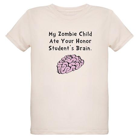 Zombie Child Organic Kids T-Shirt