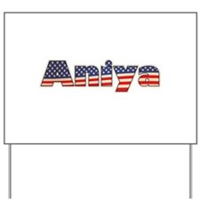 American Aniya Yard Sign