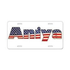American Aniya Aluminum License Plate