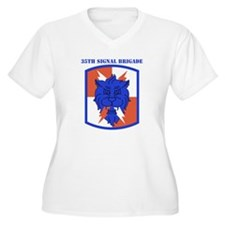 SSI-35TH SIGNAL BDE WITH TEXT T-Shirt
