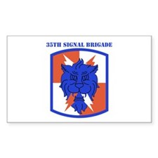 SSI-35TH SIGNAL BDE WITH TEXT Decal