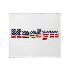 American Kaelyn Throw Blanket