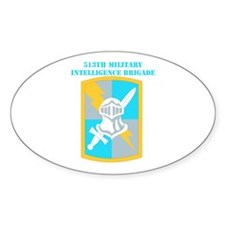 SSI-513TH MILITARY INTELLIGENCE BDE WITH TEXT Stic