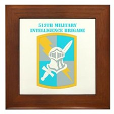 SSI-513TH MILITARY INTELLIGENCE BDE WITH TEXT Fram