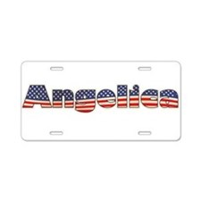American Angelica Aluminum License Plate