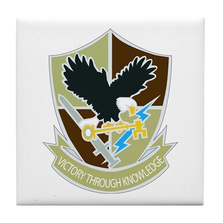 DUI-706TH MILITARY INTELLIGENCE GROUP Tile Coaster