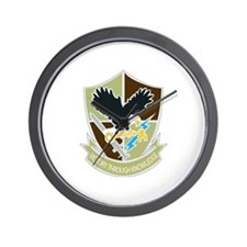 DUI-706TH MILITARY INTELLIGENCE GROUP Wall Clock