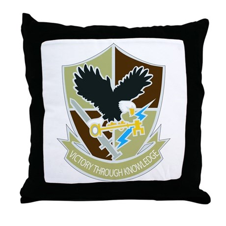 DUI-706TH MILITARY INTELLIGENCE GROUP Throw Pillow