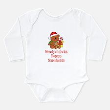 Polish Christmas Baby Long Sleeve Infant Bodysuit