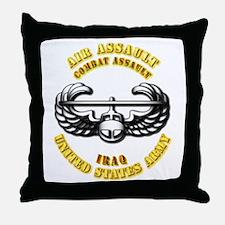 Emblem - Air Assault - Cbt Assault - Iraq Throw Pi