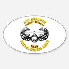 Emblem - Air Assault - Cbt Assault - Iraq Decal