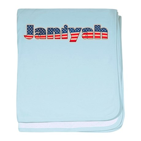 American Janiyah baby blanket