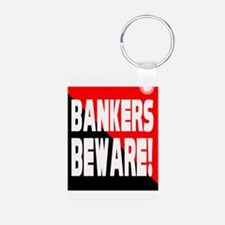 Bankers a Warning Keychains