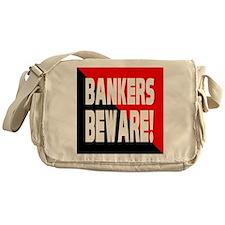 Bankers a Warning Messenger Bag