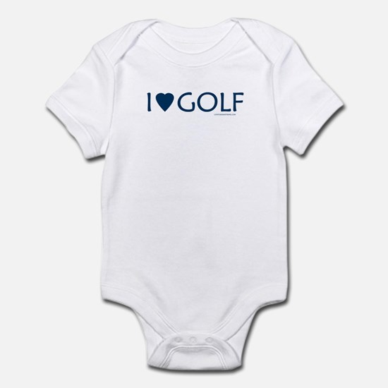 I Love Golf - Infant Creeper