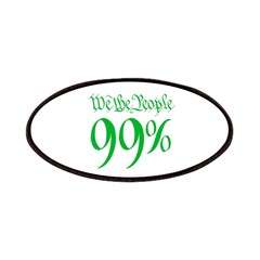 we the people 99% green Patches