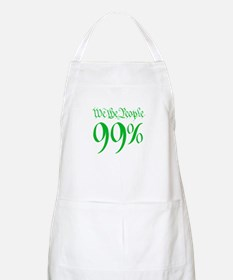 we the people 99% green Apron