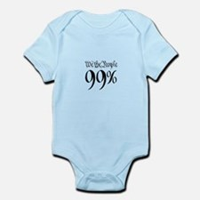 we the people 99% small Infant Bodysuit