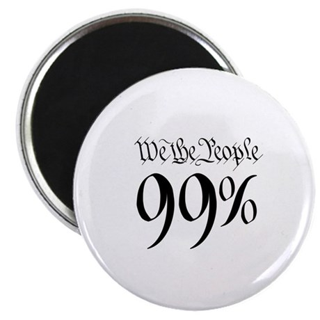 we the people 99% small Magnet