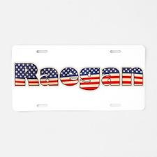 American Raegan Aluminum License Plate