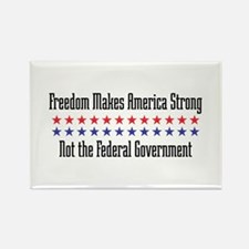 Makes America Strong Rectangle Magnet