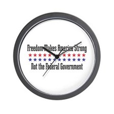 Makes America Strong Wall Clock