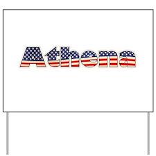 American Athena Yard Sign