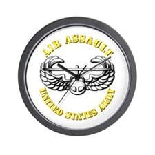 Emblem - Air Assault Wall Clock