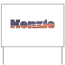 American Kenzie Yard Sign