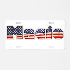 American Macie Aluminum License Plate