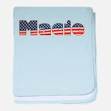 American Macie baby blanket