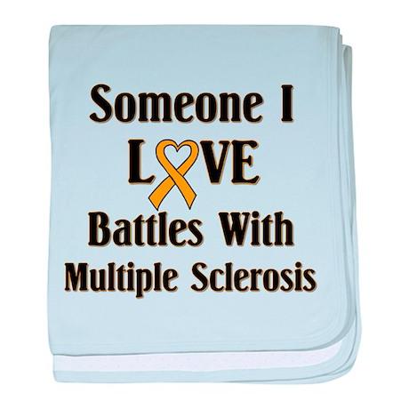 MS - Multiple Sclerosis baby blanket
