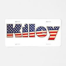 American Kiley Aluminum License Plate