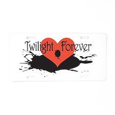 Twilight Forever Aluminum License Plate