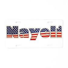 American Nayeli Aluminum License Plate