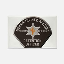 Mohave County Detention Rectangle Magnet