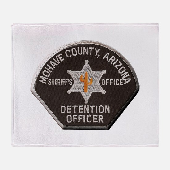 Mohave County Detention Throw Blanket