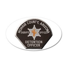 Mohave County Detention 22x14 Oval Wall Peel